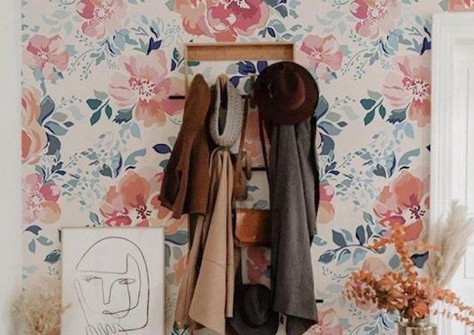 inspiration deco fleur motif