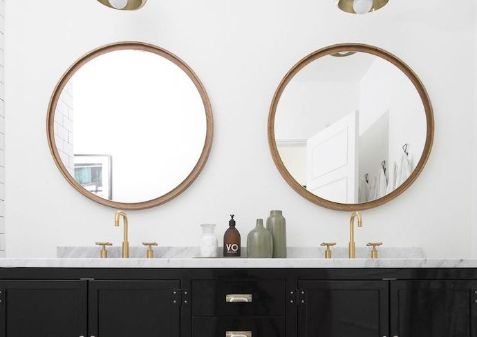 ou trouver grand miroir rond deco bonnes adresses