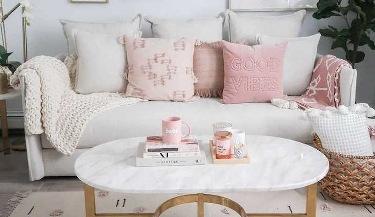 salon modern glam idee decoration ambiance