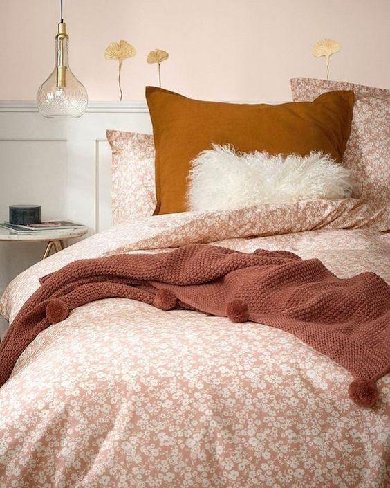 association couleur terracotta rose