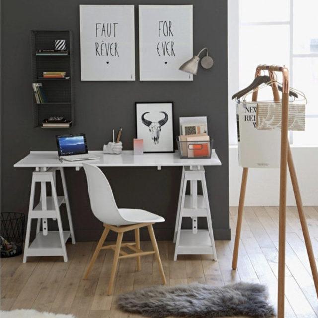 chambre adolescent bureau decoration mobilier 8