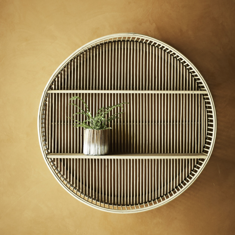 ou trouver etagere murale rotin bambou 1