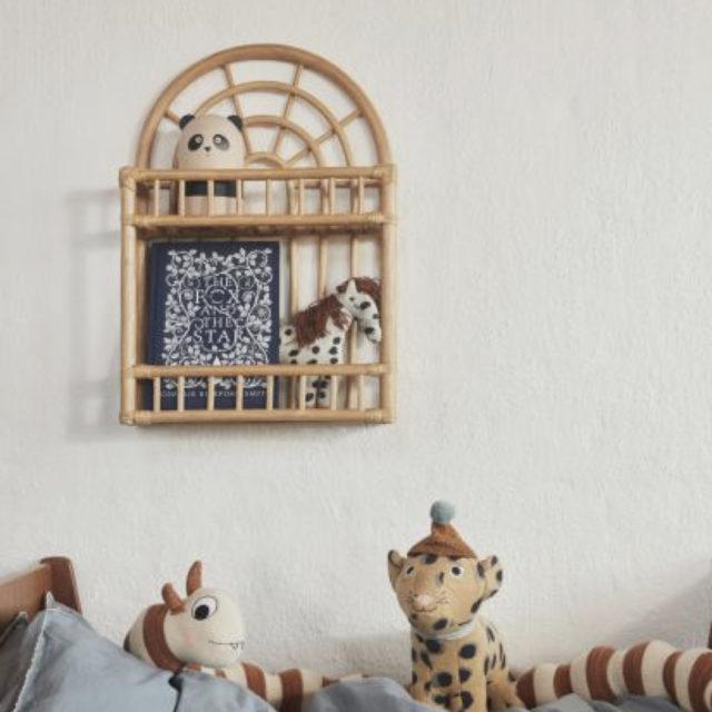 ou trouver etagere murale rotin bambou 2