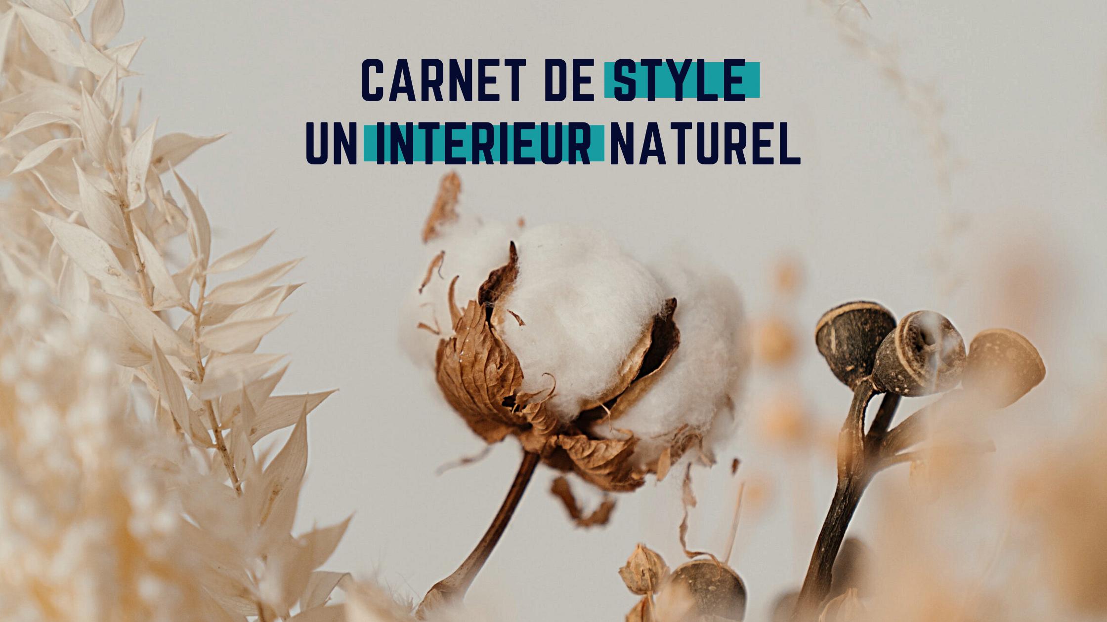 carnet de style naturel chic