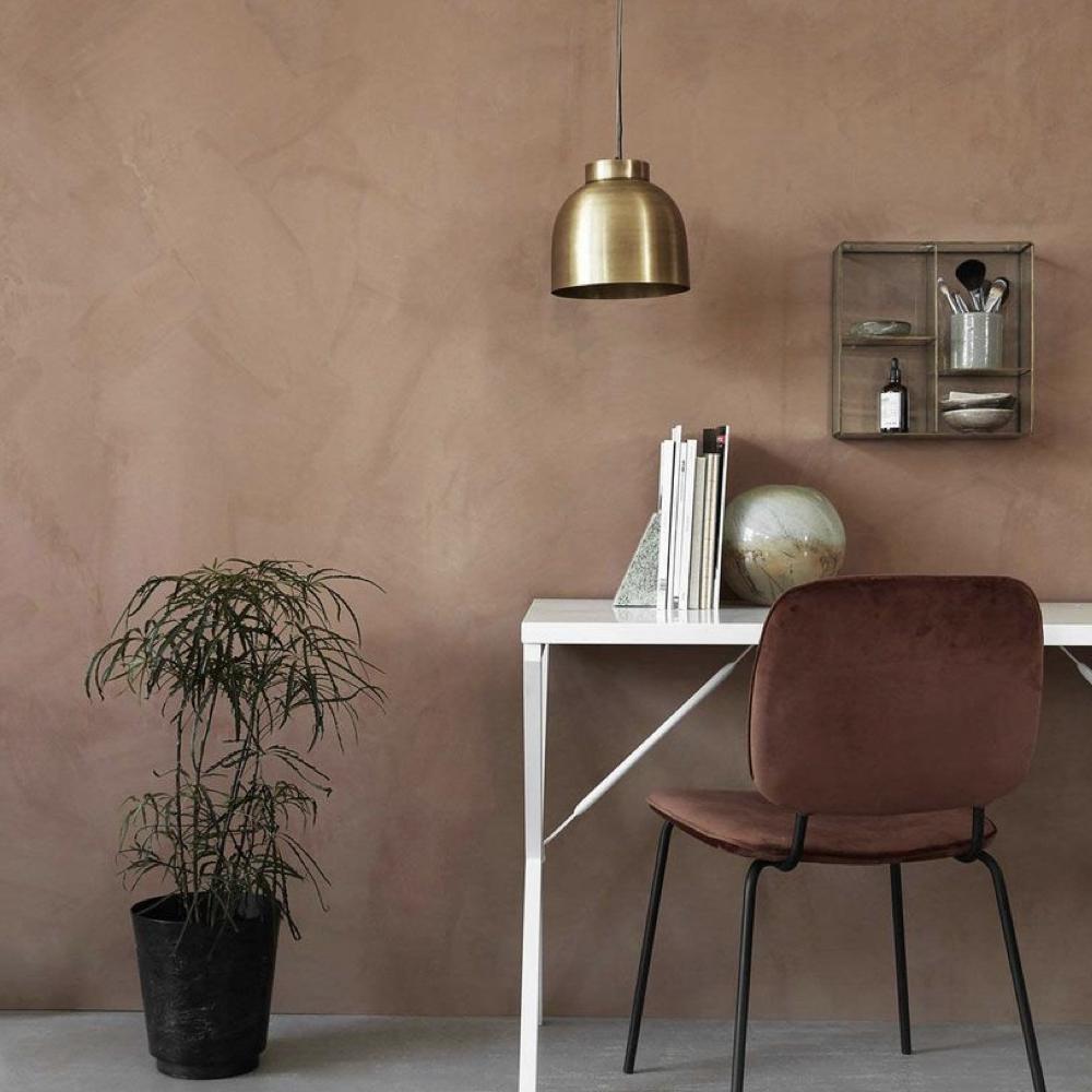 couleur terracotta salon accessoire decoration 3