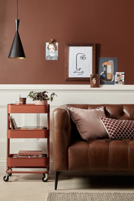 couleur terracotta salon idee deco 6
