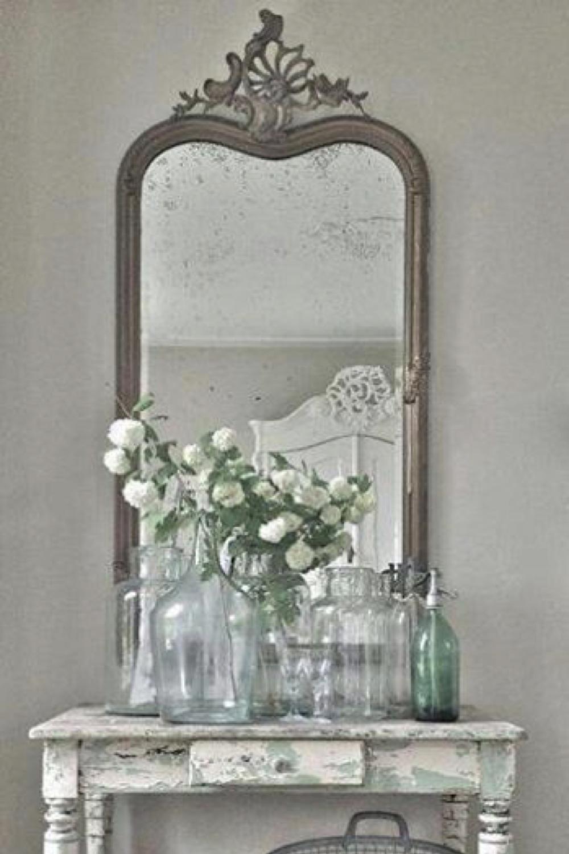 deco brocante miroir ancien 1