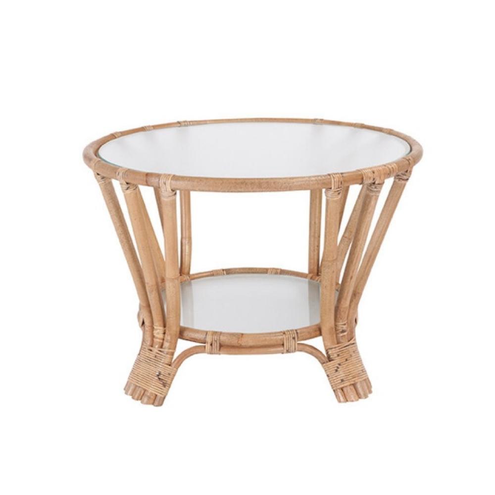ou trouver table basse rotin 7