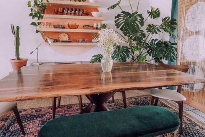 salle a manger style nature idee decoration