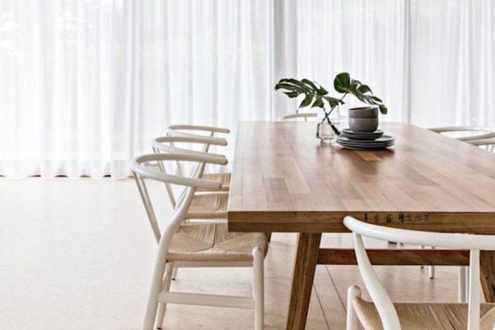 couleur blanc salle a manger conseil deco