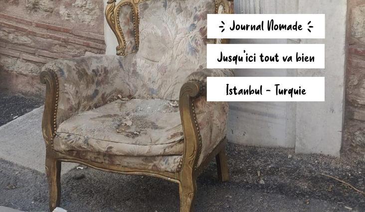 journal nomade turquie octobre 2020