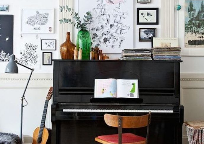 comment decorer avec instrument musique