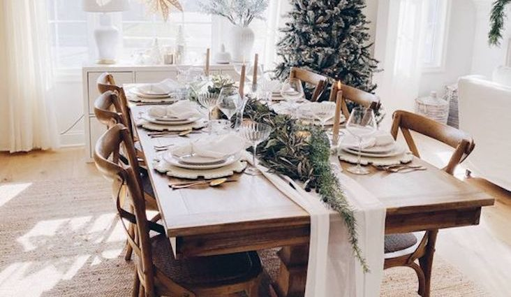 noel decor table a faire soi meme naturel et facile