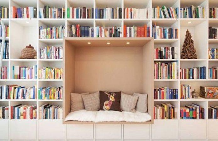 blog deco idee pour toute la maison salon séjour salle à manger cuisine bibliothèque plantes rangement luminaire miroir