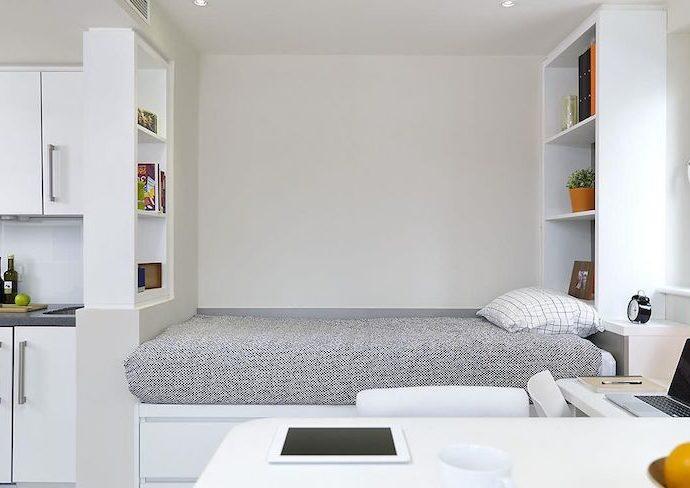 conseil bien etre confort logement etudiant améliorer lumiere literie rangement gain de place