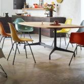 couleurs mid century comment utiliser chaises eames vitra