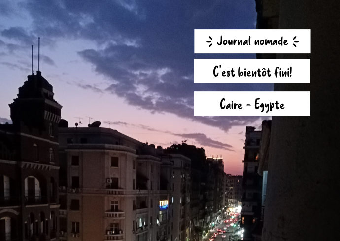 journal nomade egypte caire 2021