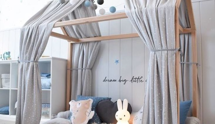 exemple relooking lit cabane enfant idee decoration petit budget