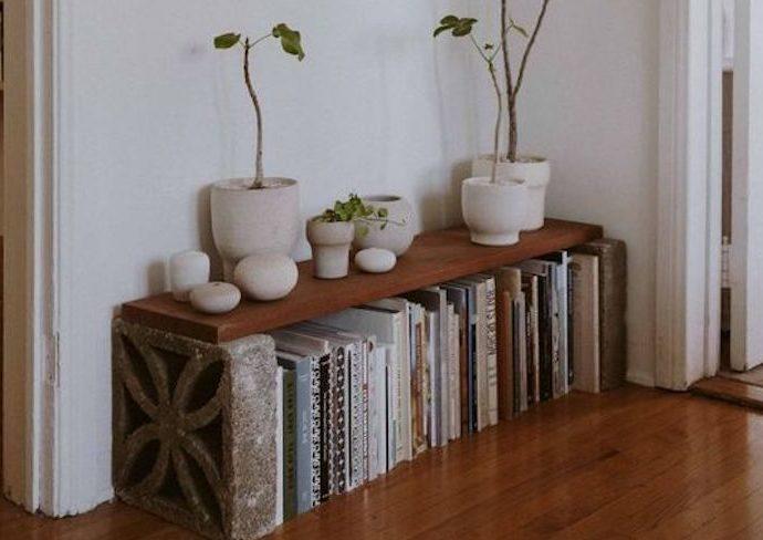petite entree diy meuble pas cher facile à réaliser