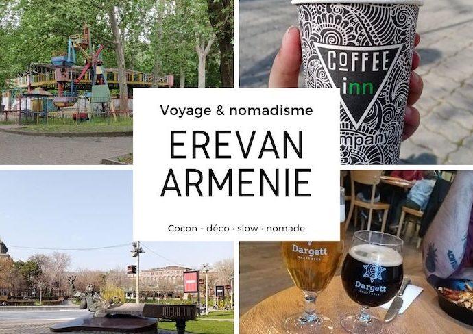 slow life nomade voyage armenie 2021 découverte parc nature bars restaurant culture