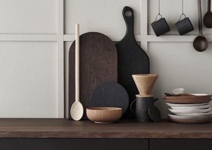 exemple cuisine minimaliste moderne décor épuré accessoires tendance
