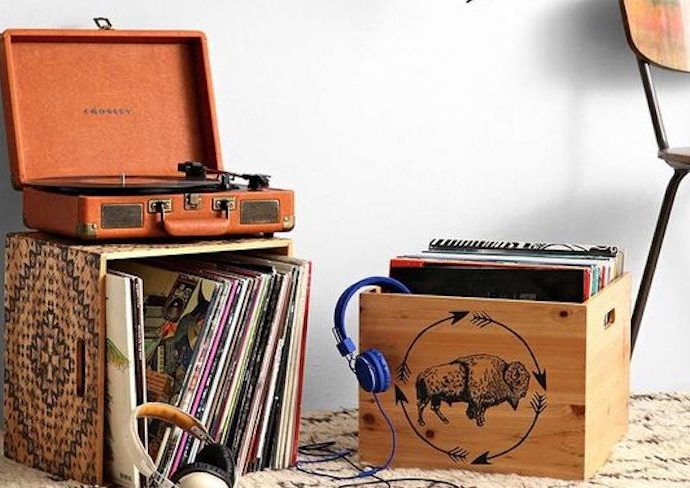 ou trouver platine et rangement vinyle bonnes adresses décoration aménagement coin musique