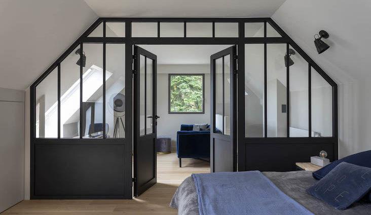 verriere combles architecture interieure idees exemples inspiration structurer espace