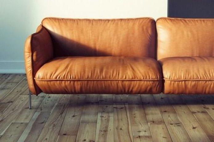 comment associer cuir et bois deco elegante mobilier accessoire vintage moderne