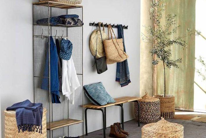 conseils amenagement entree pratique mobilier moderne gain de place