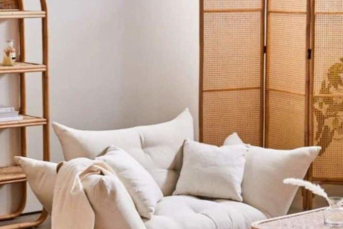 ou trouver paravent cannage salon séjour chambre tendance moderne